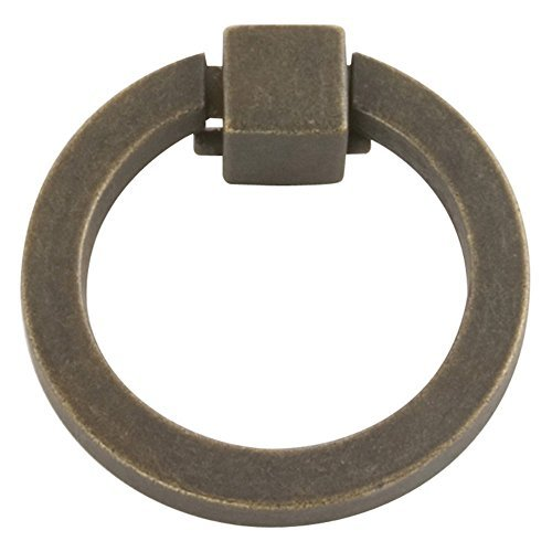 Hickory Hardware P3190-WOA 2-Inch Camarilla Ring Cabinet Pull, 2-Inch, Windover Antique by Hickory Hardware