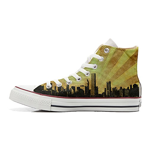 All producto Chicago Style Personalizadas Customized Zapatos Converse Star Unisex 4TUdUwq