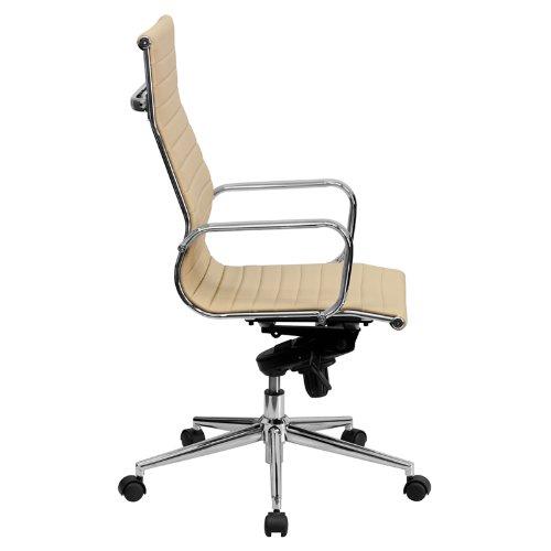 Best Price Flash Furniture High Back Tan Ribbed