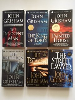 John Grisham (Set of 6) Innocent Man; King of Torts; Painted House; - Houses Painted