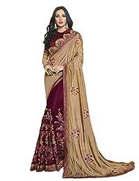 KIMANA Indian Designer Ethnic Bollywood Traditional Silk Saree Sari S3156