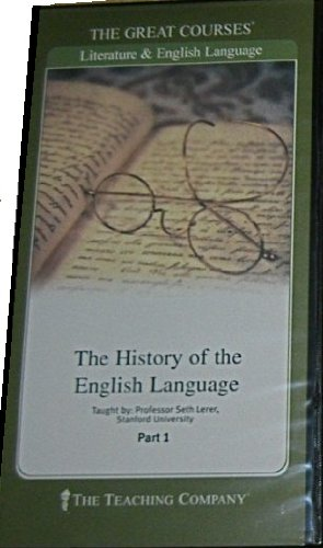The History of the English Language DVDs:  The Teaching Company (The Great Courses)