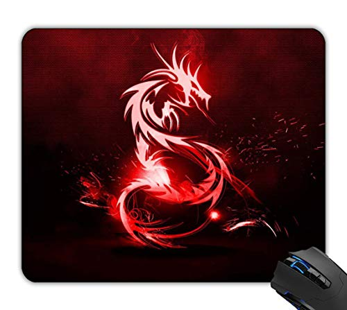 Rock-Pads, Red Dragon Logo Mousepad Gaming Mouse Pad