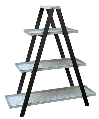 Amazon.com : Panacea 83481 Vintage Ladder A-Frame Plant Stands, 44 ...