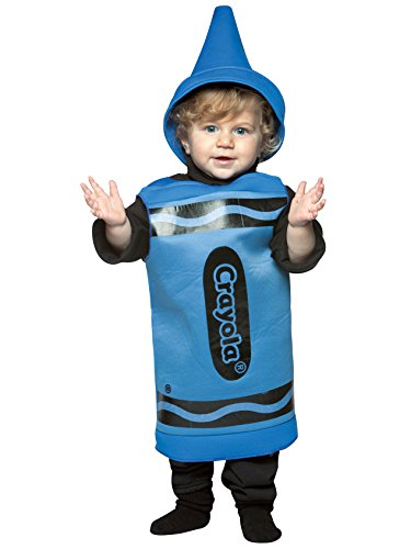 Rasta Imposta Crayola Toddler Costume, Blue, 18-24