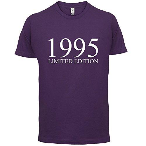 1995 Limierte Auflage / Limited Edition - 22. Geburtstag - Herren T-Shirt - Lila - M