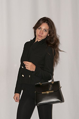 Pelle Italy Made Turchese in Borsa in 100 ELEONORA Vera BORDERLINE RfnBx1qwCR