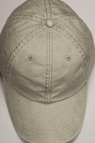 (Adams Optimum Pigment Dyed Twill Cap (Stone) (ALL))