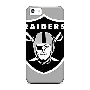Sanp On Case Cover Protector For Iphone 5c (oakland Raiders)