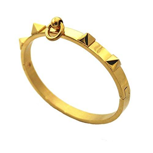Yellow Gold Fashion Bangles - 9