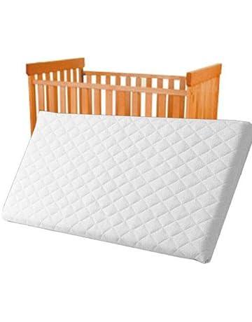 Inspire - Colchón para cuna de bebé (espuma transpirable, acolchado e impermeable),