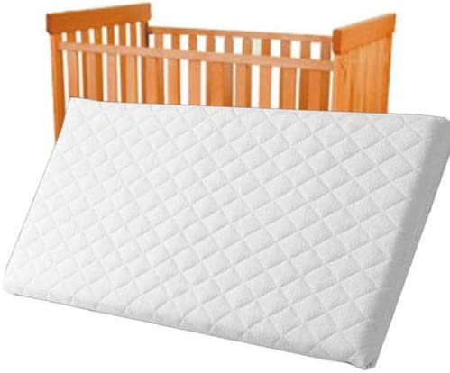 80 X 35 X 4 cm Crib Mattress Baby Toddler COT Bed Breathable Quilted and Waterproof Foam Mattress Crib Mattress Nursery Baby Breathable Waterproof Cradle Pram Swing Mattress Size