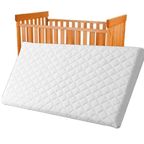 Colchón acolchado y transpirable para cuna de bebé, 85 x 45 x 4,5 cm: Amazon.es: Bebé