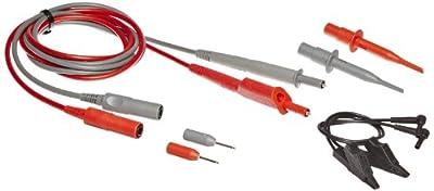 Fluke STL120-III 2 Piece Shielded Test Leads Set, 12.5 MHz Bandwidth, 1.2m Cable Length