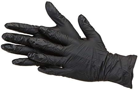 キャプテンスタッグ(CAPTAIN STAG) アウトドア 使い捨て手袋 指先グリップ付き 左右兼用 10枚入り