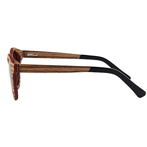 soleil de UV Lunettes soleil lunettes de haute soleil qualité à de la de de la UV Ultra Light en lunettes main de à bois de main de Marron plage Men de conduite lunettes polarisées protection soleil de qwftIEnCx