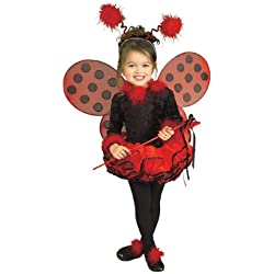 Deluxe Lady Bug Costume - Toddler