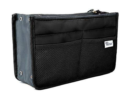 Periea Handbag Organizer - Chelsy (Large, Black)