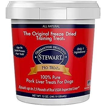 Amazon.com : Stewart Pro-Treat, Freeze Dried Pork Liver