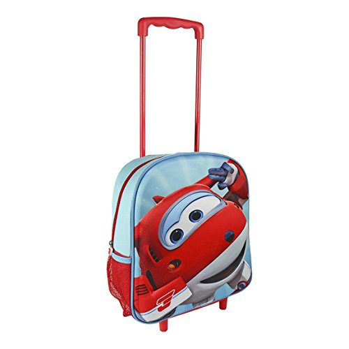 Super Wings 2100001949 Travel Trolley with 31 cm 3D Junior Backpack by Super (Junior Wings)