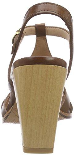 Neosens Gloria - Sandalias de tobillo Mujer Marrón