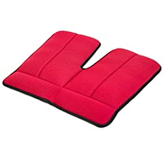 You've only got one butt. Protect it! With the advanced air-cushion technology, Dr. Air Seat Cushion makes sitting easier and relaxed - just like sitting on a cloud - helping you with back pain and providing sciatica relief. Unlike gel cushio...