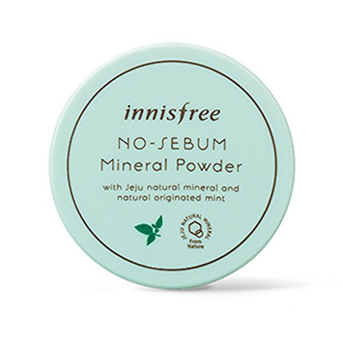 Innisfree No Sebum Mineral Powder 5g (Oil Absorbing Powder)