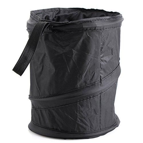 Car Trash Bag,Premium Waterproof Litter Hanging Car Garbage Bag,Small Laundry Bag,Car Trash Can Perfect for Car Seat Headrest or Car Floor (Round)