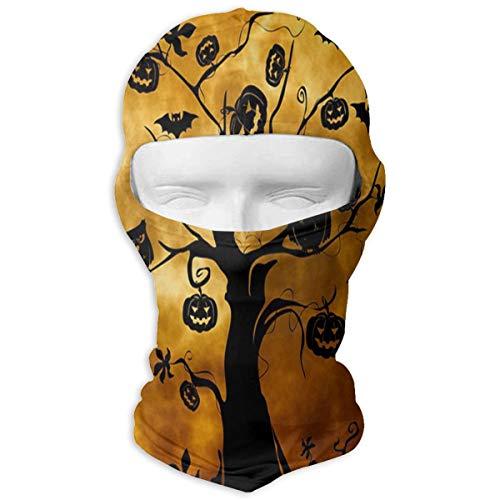 YIXKC Balaclava Halloween Tree Owl Fabulous Full Face Masks UV Protection Snowboarding for Men ()