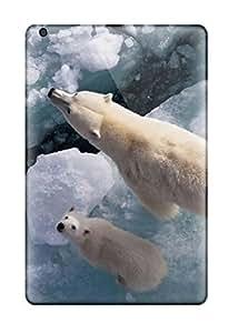 Shock-dirt Proof Baby Polar Bear Wallpaper Case Cover For Ipad Mini/mini 2