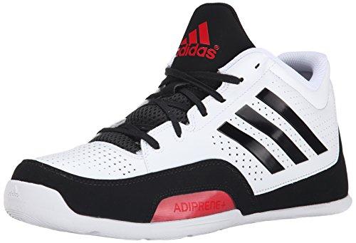 adidas performance männer 3 reihe 2015 basketball - schuh, weiß / schwarz