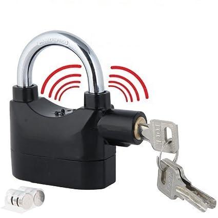VelVeeta Brand New Anti Theft Burglar Pad Lock Alarm Security Siren Home Office Bike Bicycle Shop