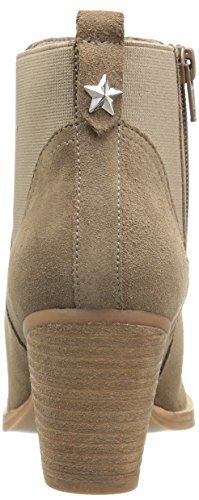 Steve Madden Womens Repell Boot Taupe Nubuck