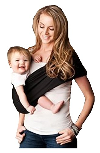 Everyday Baby Sling (Seven Everyday Slings Baby Carrier Sling Color Black Size 4/Medium)