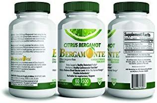 Cholesterol Bergamonte Supplement Cardiovascular Polyphenolic product image