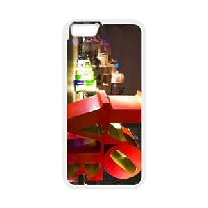 iPhone6 Plus 5.5 inch Phone Case White New York Love AH1111387