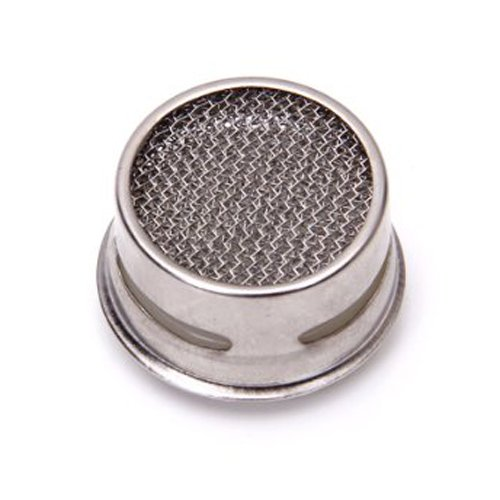 SODIAL(R) Kitchen/Bathroom Faucet Sprayer Strainer Tap Filter---White and Silver by SODIAL(R) (Image #1)
