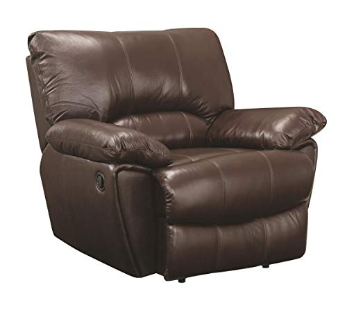 Coaster Home Furnishings Clifford Upholstered Recliner Chocolate -  600283
