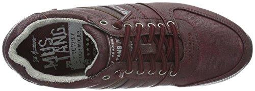Mustang 1226-403 - Zapatillas para mujer, color Rojo (55 bordeaux), talla 38 EU