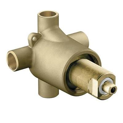 Moen 3360 1/2 Inch Sweat (Copper-to-Copper) 3-Function Diverter Valve,