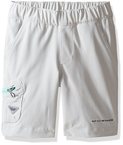 Columbia Boys Terminal Tackle Shorts, X-Large, Cool Grey, Gulf Stream by Columbia
