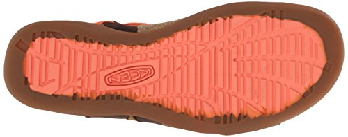 braun Damen Keen orange Damen Outdoorsandalen Outdoorsandalen Keen Pqv6Xa6Zw