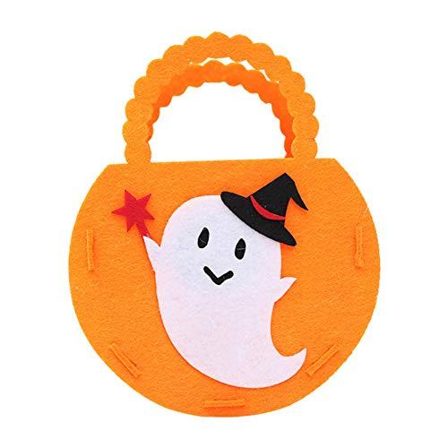 wsloftyGYd Halloween Candy Bag Pumpkin Bat Ghost Witch