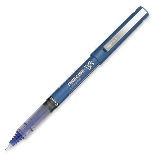 Pilot Pen PIL35335 Precise V5 Blue Rolling Ball Extra Fine P
