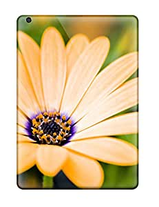 Tpu Case Cover For Ipad Air Strong Protect Case - Growing Flowers Design 3802474K26701918