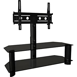 TechCraft TRK50B 48-Inch Wide Flat Panel TV Stand with Mount - Black (Discontinued by Manufacturer)
