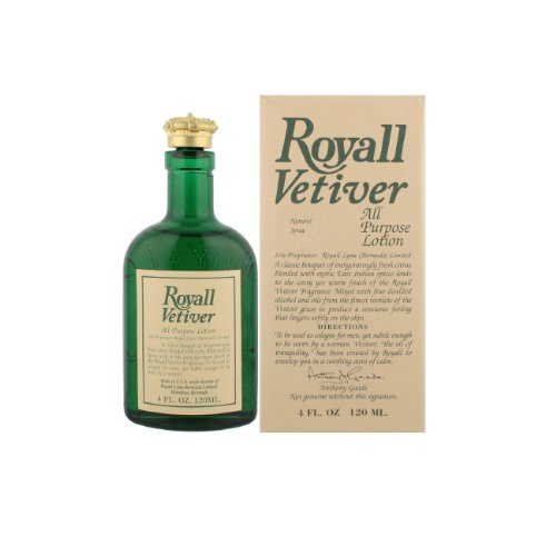 (Royall Vetiver By Royall Fragrances For Men Aftershave Lotion Cologne Spray 4 Oz)