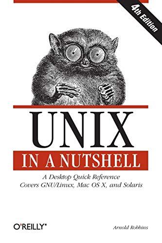 Unix in a Nutshell, Fourth Edition