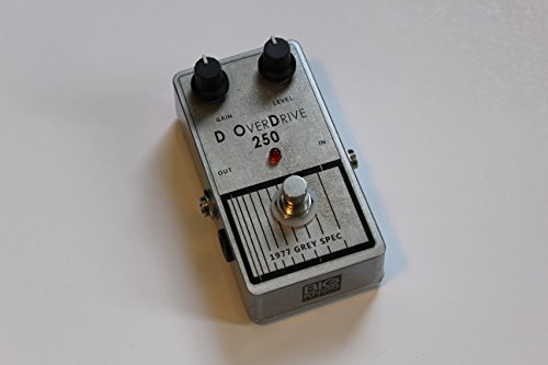 Big Knob Pedals Guitar Distortion Effects Pedal (DOD 250 Overdrive) (Tone Rhoads Randy Guitar)