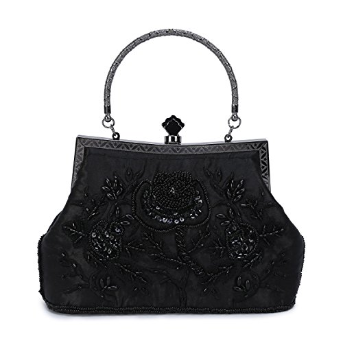 Buy black sequin bag